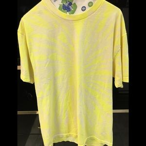 Daydreamer for Free People neon yellow tee